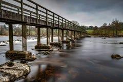 Castleconnell人行桥2 图库摄影