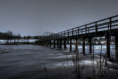 Castleconnell Footbridge 1 Stock Image