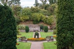 Castledykes-Park, Dumfries Lizenzfreie Stockfotos