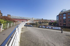 Castlefield Basin in Spring Stock Photography
