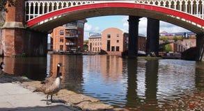Castlefield, Manchester imagens de stock