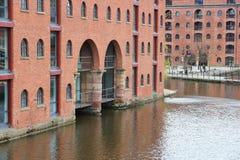Castlefield Manchester Royaltyfri Foto
