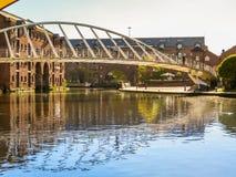 Castlefield, Manchester, Angleterre, Royaume-Uni image libre de droits