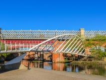 Castlefield, Manchester, Angleterre, Royaume-Uni photos stock