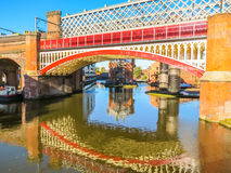 Castlefield, Manchester, Angleterre, Royaume-Uni Images stock