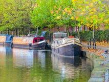 Castlefield, Manchester, Angleterre, Royaume-Uni Photos libres de droits