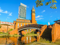 Castlefield, Manchester, Angleterre, Royaume-Uni Image stock