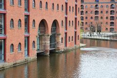Castlefield, Manchester Royalty Free Stock Photo