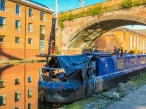 Castlefield, Manchester, Engeland, het Verenigd Koninkrijk Royalty-vrije Stock Fotografie