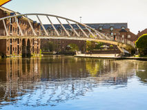 Castlefield, Manchester, Engeland, het Verenigd Koninkrijk Royalty-vrije Stock Afbeelding