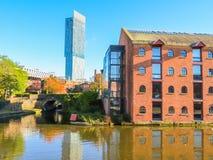 Castlefield, Manchester, Engeland, het Verenigd Koninkrijk Stock Foto