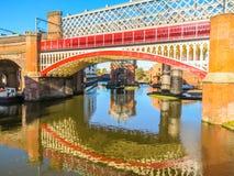 Castlefield, Manchester, Engeland, het Verenigd Koninkrijk Stock Afbeeldingen