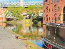 Castlefield, Manchester, Engeland, het Verenigd Koninkrijk stock foto's