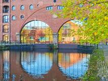 Castlefield, Manchester, Engeland, het Verenigd Koninkrijk royalty-vrije stock foto