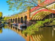 Castlefield Manchester, England, Förenade kungariket Royaltyfri Fotografi