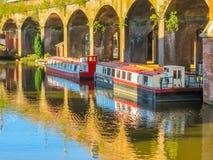 Castlefield, Manchester, England, Vereinigtes Königreich Stockfotografie