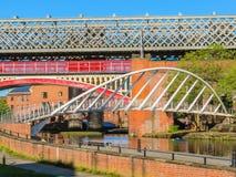 Castlefield, Manchester, England, Vereinigtes Königreich Lizenzfreie Stockfotografie