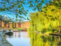 Castlefield, Manchester, Inghilterra, Regno Unito Immagini Stock