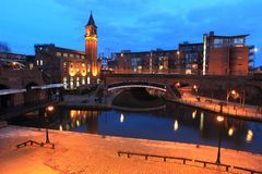 Castlefield in Manchester Stock Photo