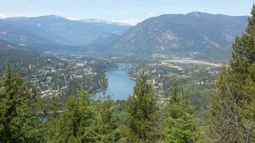Castlegar Royalty Free Stock Photography
