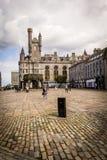 Castlegate i stadsmitten, Aberdeen, Skottland, Storbritannien, 13/08 2017 Royaltyfri Foto
