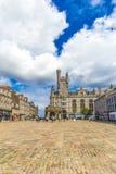 Castlegate i stadsmitten, Aberdeen, Skottland, Storbritannien, 13/08 2017 Arkivfoton