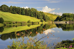 Castlehill reservoir, Glen Devon, Scotland Stock Photos