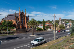 Castlemaine Presbyterian Church Stock Photography