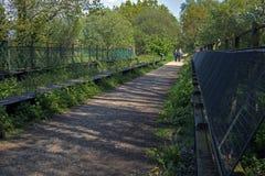Castleman Trailway Obraz Royalty Free
