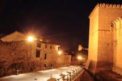 CastleMora DE Rubielos Teruel Aragon Spanje Royalty-vrije Stock Foto