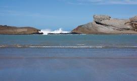 Castlepoint, Новая Зеландия Стоковое фото RF