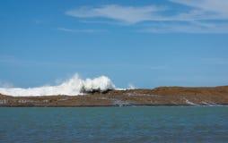 Castlepoint, Новая Зеландия Стоковое Изображение