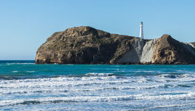 Castlepoint Beach. On a nice shiny day Royalty Free Stock Photos