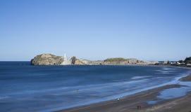 Castlepoint beach Stock Photos
