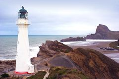 Castlepoint Lighthouse Stock Photography