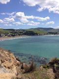 Castlepoint - Neuseeland Stockbild