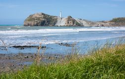 Castlepoint, New Zealand Stock Photo