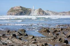 Castlepoint, Nieuw Zeeland Stock Afbeelding