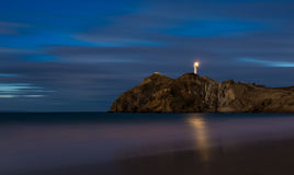 Castlepoint At Night Stock Images