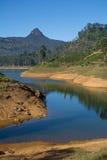 Castlereigh reservoir in sri lanka. Castlereigh reservoir and surrounded tea plantations in sri lanka Stock Photography