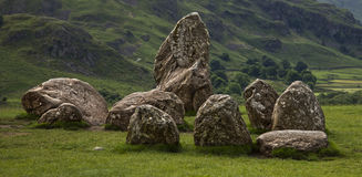 Castlerigg石头圈子 免版税库存照片