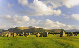 Castlerigg circle sheep, summer Stock Images