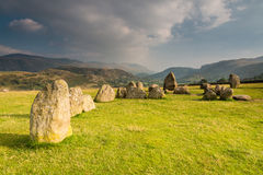 Castlerigg Circles inner chamber Stock Photography