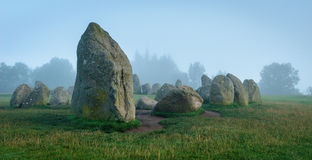 Castlerigg Kamienia Okrąg obrazy royalty free
