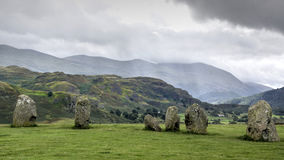 Castlerigg - Keswick - Lake District Royalty Free Stock Photography
