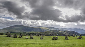 Castlerigg - Keswick - Lake District Stock Images