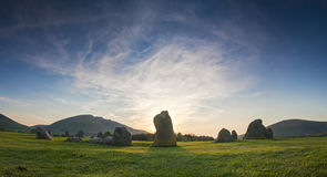 Castlerigg, Lake District, UK Stock Photos