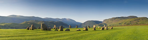 Castlerigg, Lake District, UK Royalty Free Stock Images