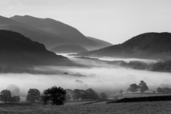 Castlerigg Misty Morning Royalty Free Stock Images