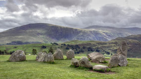 Castlerigg - Keswick - Lake District Stock Photos